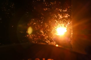 Bild von einem Sonnenuntergang
